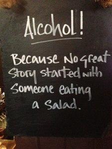 story salad